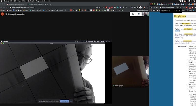 Computer vision pairing