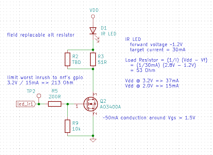 IR LED circuit #1