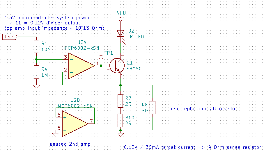 IR LED circuit #3